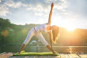 yoga leven begint met yoga