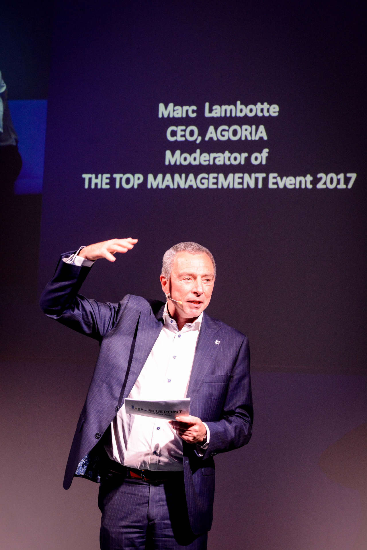 Marc Lambotte - Moderator - Purusha Business
