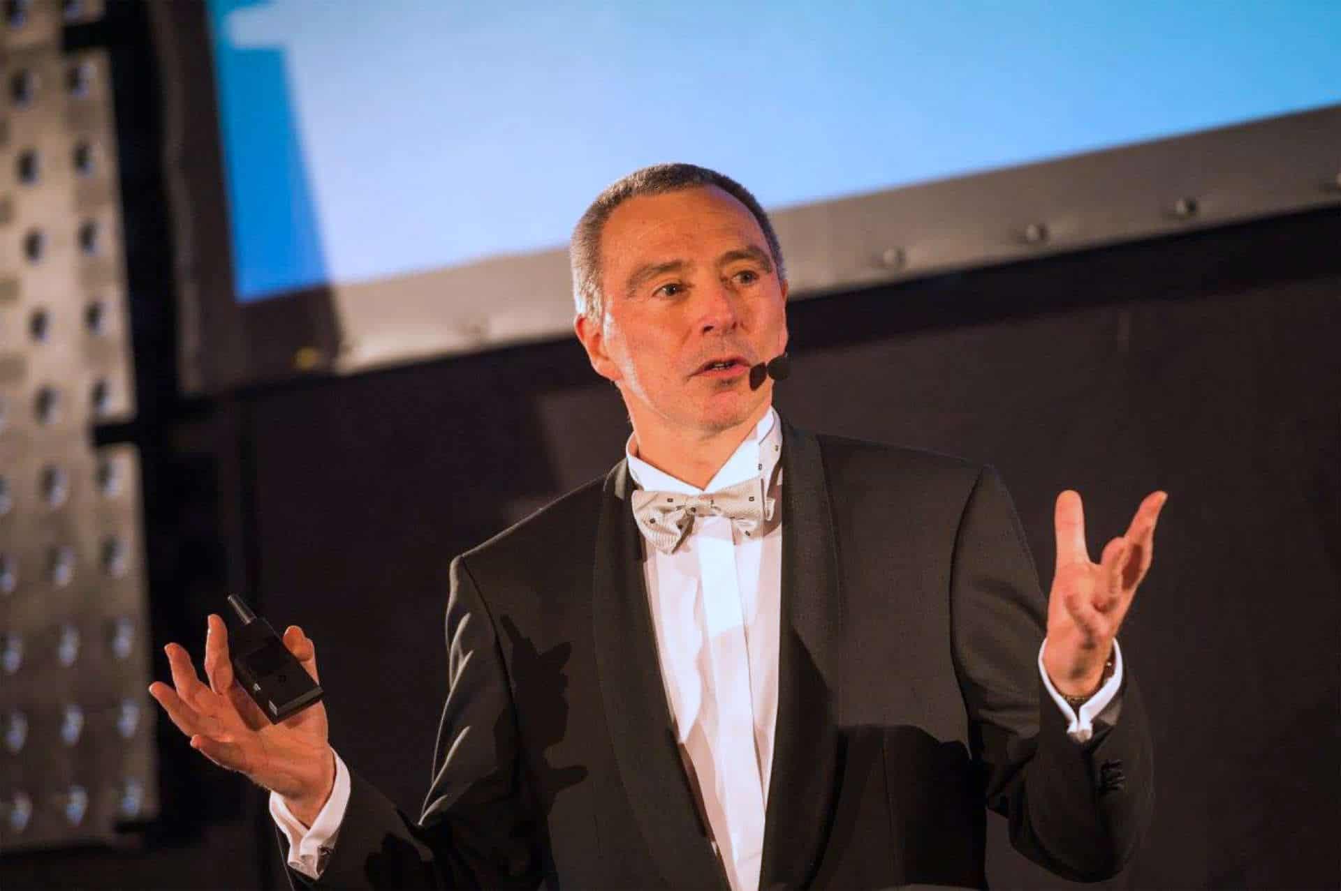 Marc Lambotte - Presentator - Purusha Business